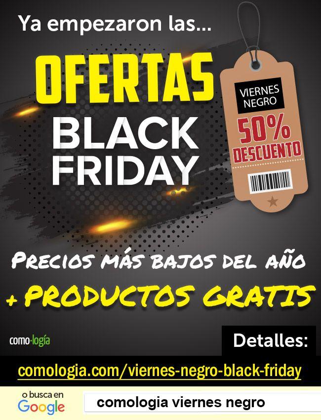 🔍 Lista con BUSCADOR de TODAS ofertas del viernes negro (Black Friday)