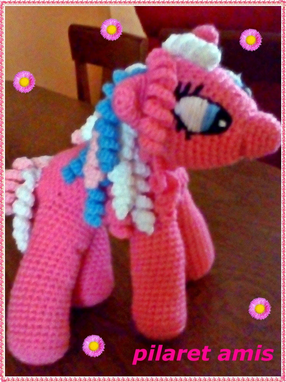 PILARET AMIS : MI PEQUEÑO PONY   Amigurumi crochet   Pinterest   Mi ...