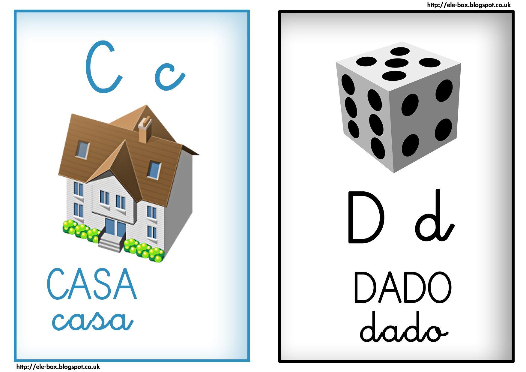 C De Casa Y D De Dado