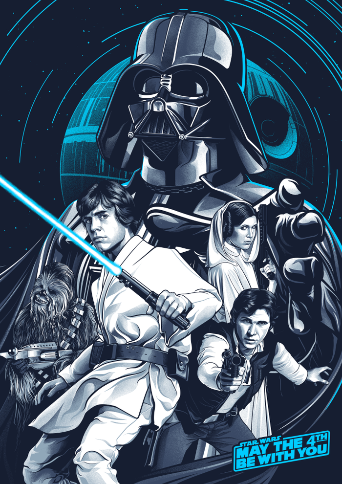 A R C H I V E Coolpops May The 4th Be With You By Amien Star Wars Painting Star Wars Canvas Art Star Wars Poster