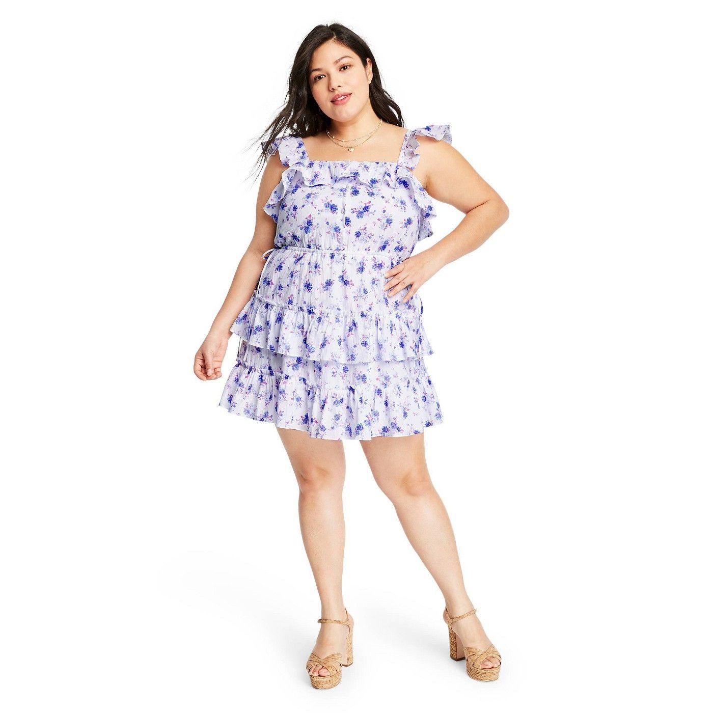 Women S Amalie Tiered Ruffle Dress Loveshackfancy For Target Regular Plus White Blue Sponsored Ruffle Sponso Tiered Ruffle Dress Ruffle Dress Dresses [ 1400 x 1400 Pixel ]