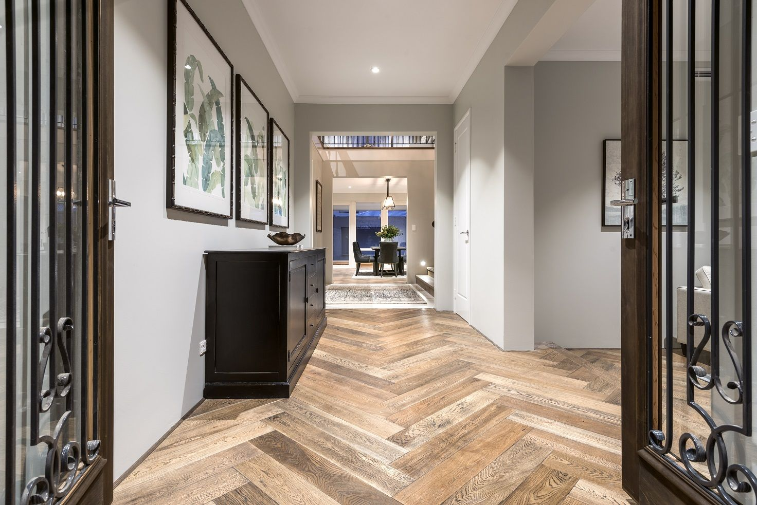Webb And Brown Neaves Toorak: Entry To The Toorak Display Home By Webb & Brown-Neaves