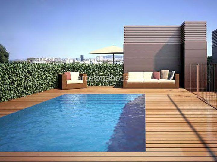 Resultado de imagen para piscinas en terrazas de aticos for Piscinas en aticos