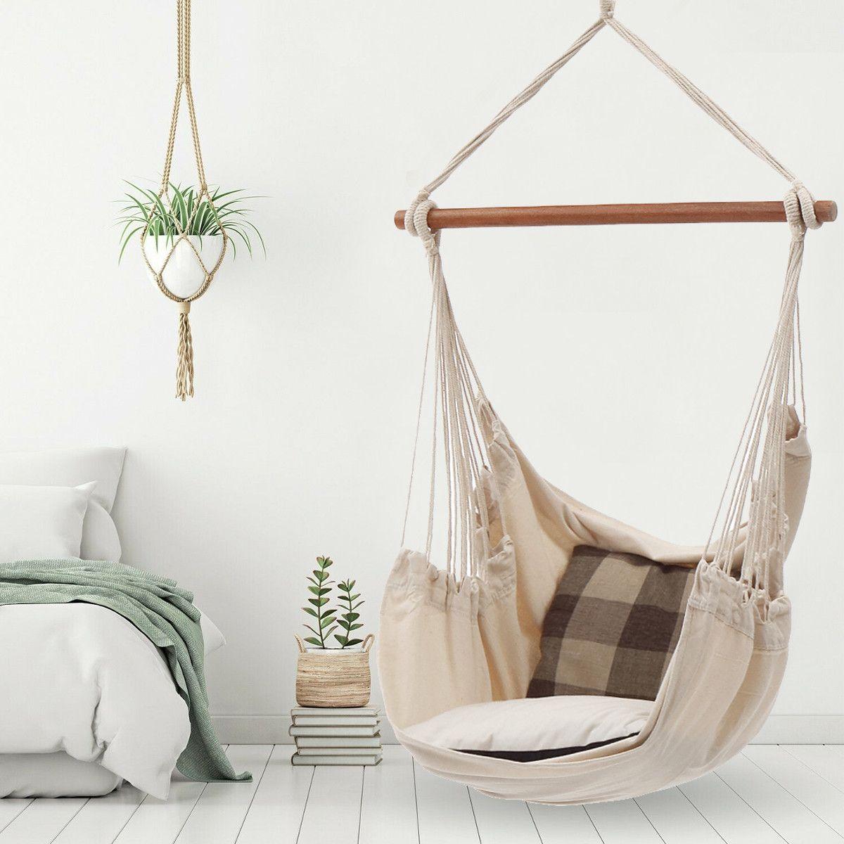 Patio Garden Hammock Swing Chair Bedroom Hanging Chair Hammock Chair