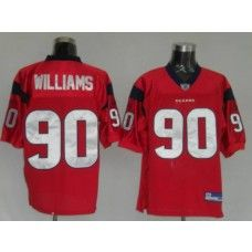 Texans Mario Williams  90 Red Stitched NFL Jersey  783989d1b