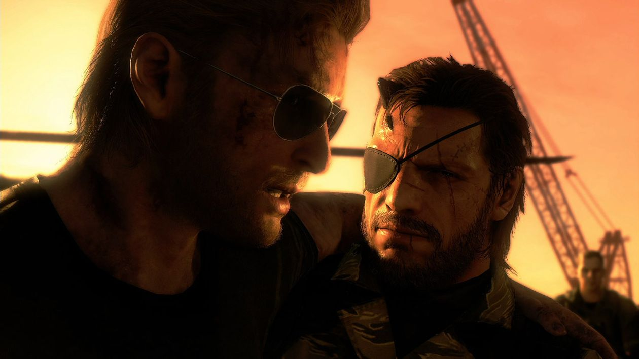 Big Boss And Miller Metal Gear Solid Metal Gear Metal Gear Online It's where your interests connect you with your people. big boss and miller metal gear solid