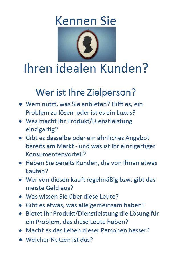http://tinyurl.com/Zielgruppe-finden Zielgruppenmarketing - Ihr idealer Kunde