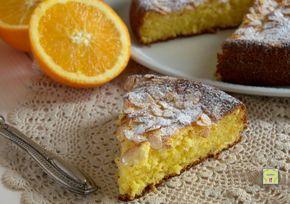 Dolci Da Credenza Alice Ricette : Torta di mandorle e arance: una da credenza morbida