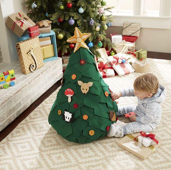 Makers Guide Playtime Children S Tree Joann Jo Ann Felt Christmas Tree Diy Christmas Ornaments For Toddlers Christmas Diy