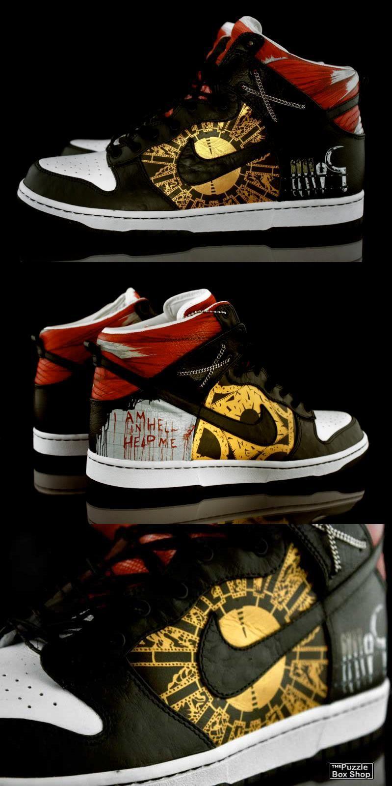 new concept 75d45 65f1f Hellraiser NIKE Custom Sneakers