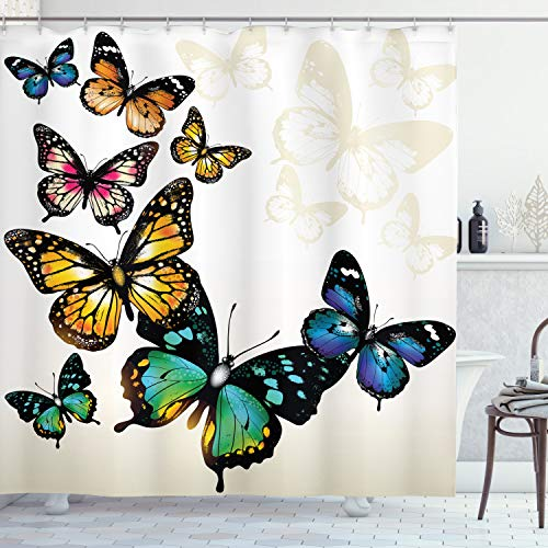 Beautiful Butterfly Bathroom Decorations For Exciting New Beginnings Butterfly Shower Curtain Bathroom Decor Butterfly Bathroom