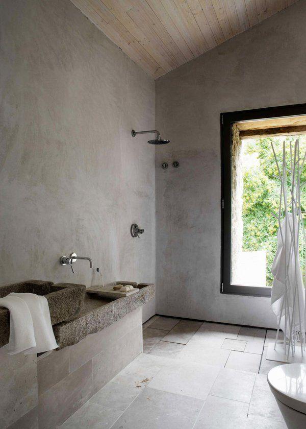 Salle de bain  quelle déco pour une douche italienne ? Bath - salle de bains douche italienne