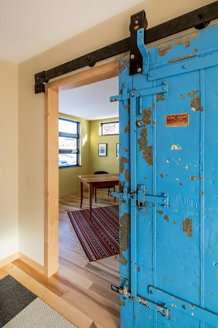 sliding railcar door - Google Search | Mcneely home | Pinterest ...