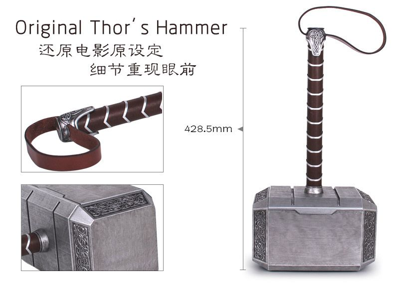 mjolnir dimensions reference images pinterest thor