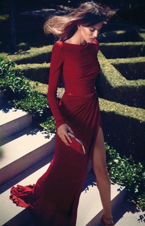 Gorgeous Elie Saab red dress