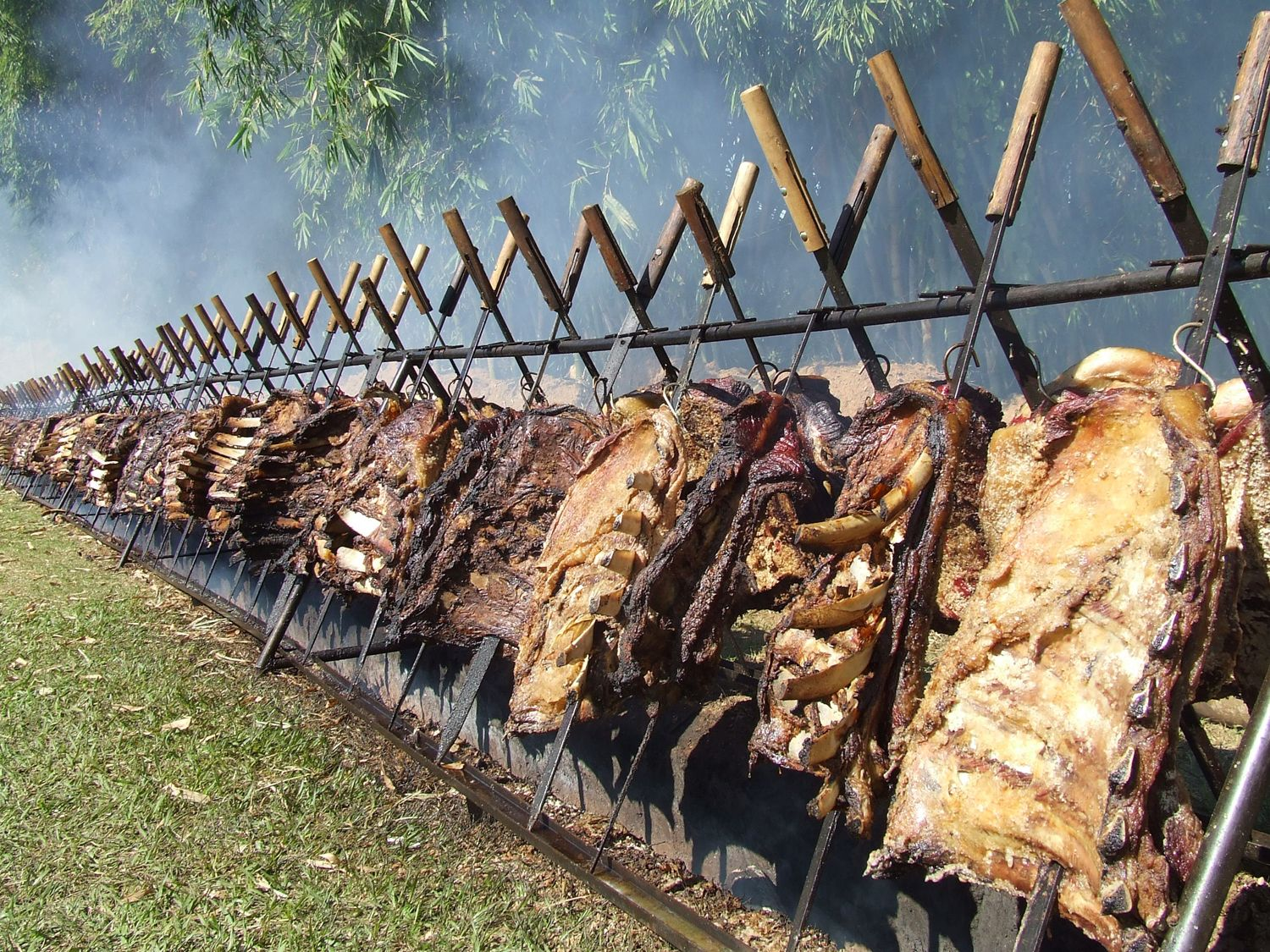 The Inspiration For Our Product Line A Church Bbq In