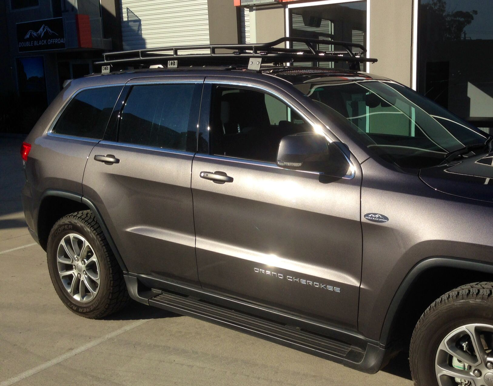 Gobi Jeep Grand Cherokee Stealth Roof Rack 2017 Wk2 Free Ladder Wind Deflector Shipping Order This An