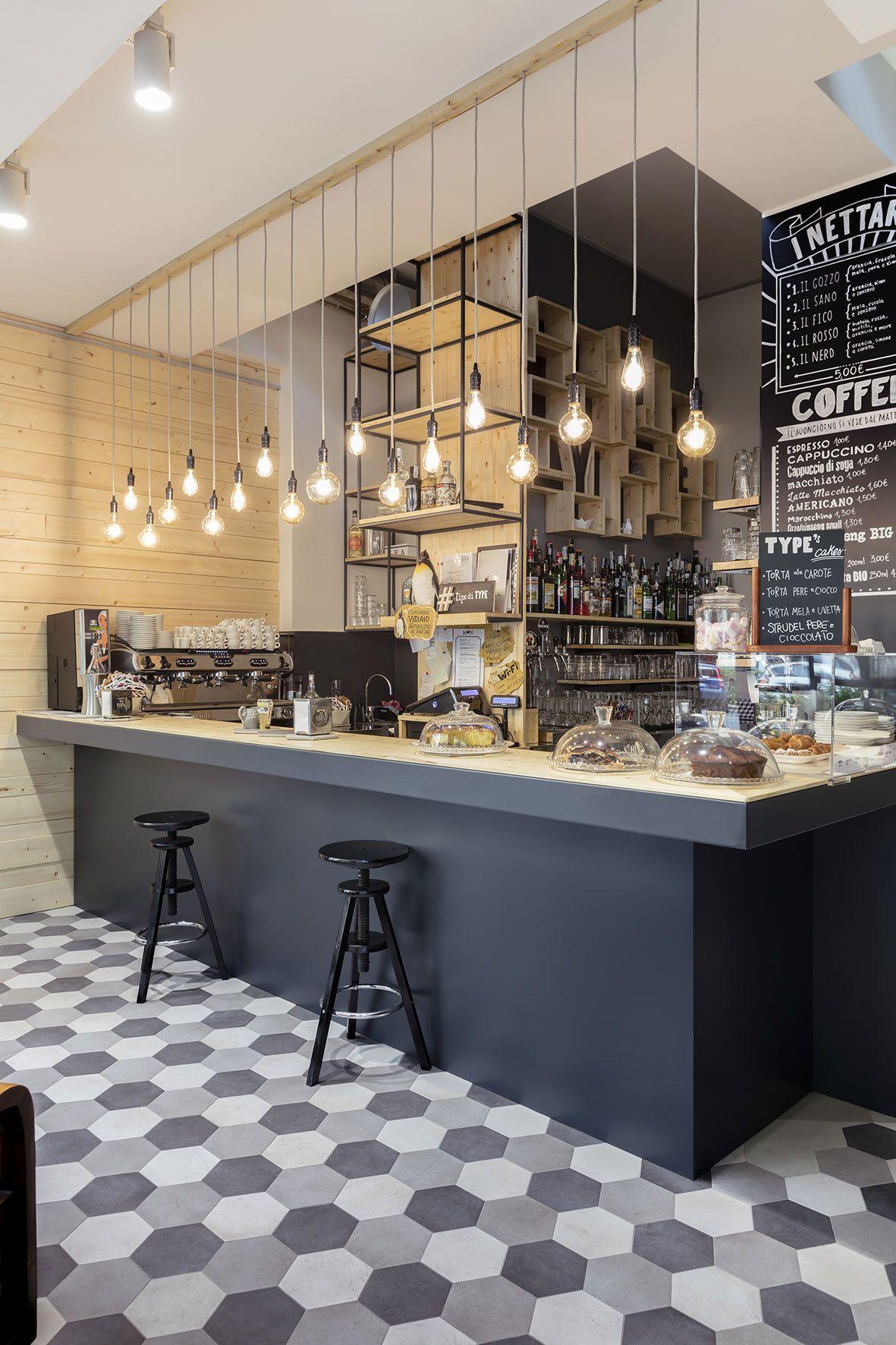 MARGSTUDIO · TYPE · Divisare | Cafe interior design, Coffee shop interior design, Coffee shops ...