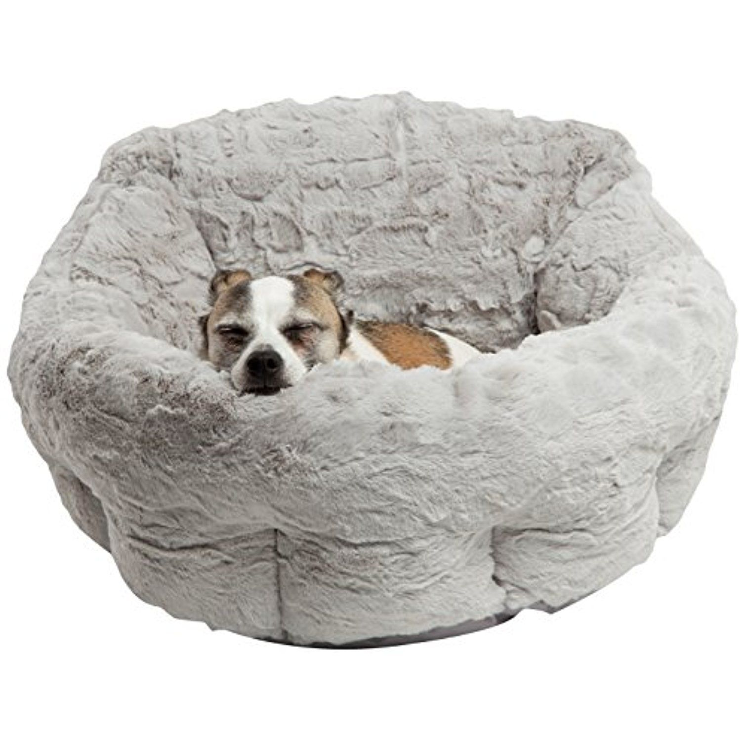 Best Friends By Sheri Dpd Lux Gry Deep Dish Cuddler In Lux Gray One Size You Can Get More Details By Clicking On The Imag Cool Dog Beds Dog Bed Small Pets