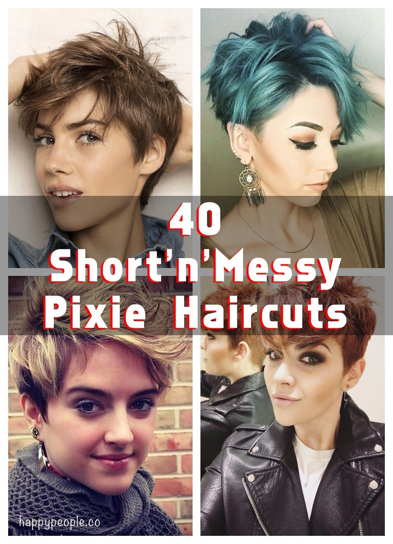 Messy Is Cool 40 Short N Messy Pixie Haircuts You Must Try Messy Pixie Messy Pixie Haircut Pixie Haircut