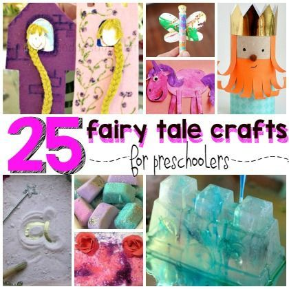 25 fairy tale crafts for preschoolers fairy tales and fables fairy tale crafts fairy tale. Black Bedroom Furniture Sets. Home Design Ideas