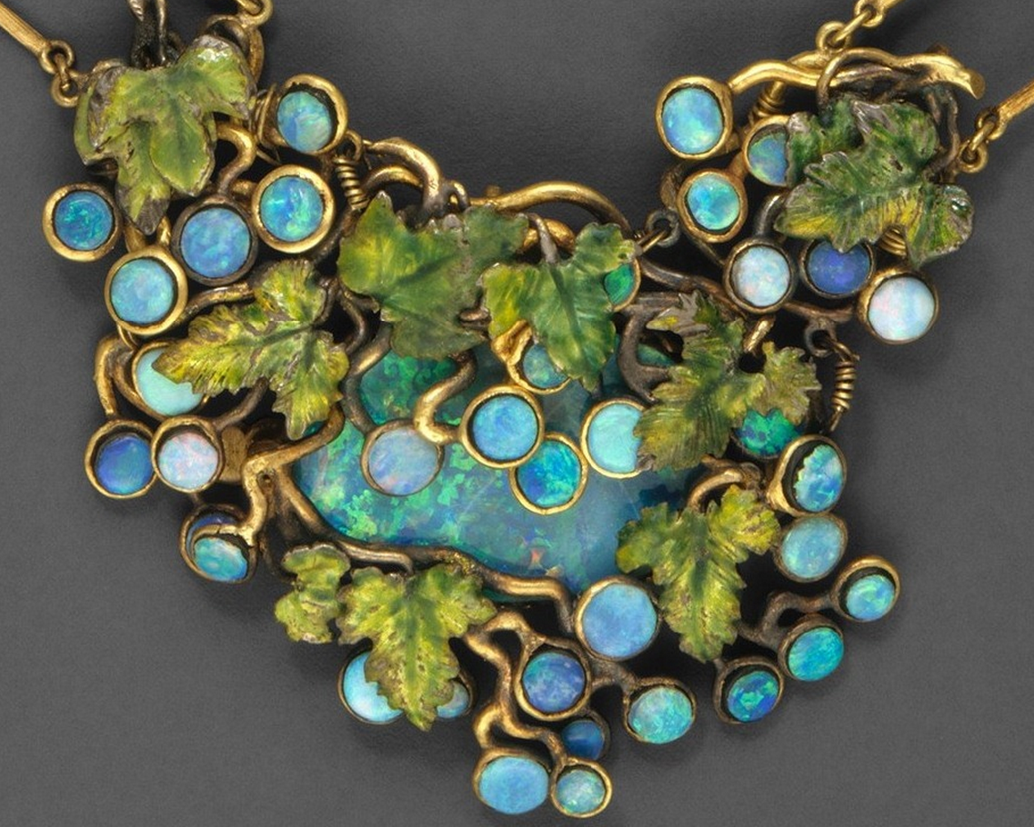 Necklace Louis Comfort Tiffany 1904 Tiffany Jewelry Art Nouveau Jewelry Louis Comfort Tiffany
