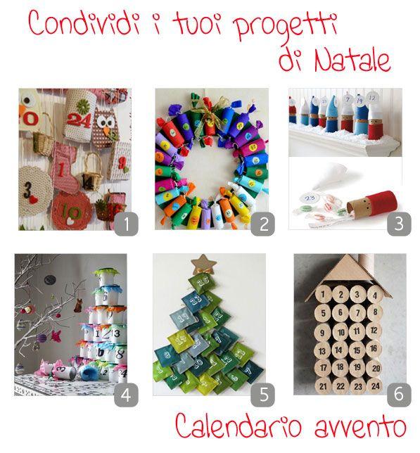 Kreattiva: Natale in festa: Calendario avvento [raccolta]