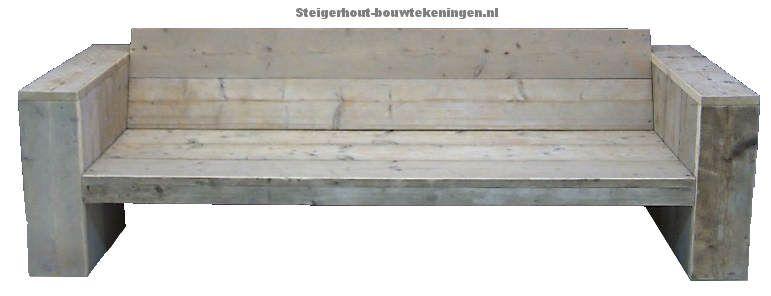 Buitenkeuken Steigerhout Gamma.Steigerhout Loungebank Xl Naar Voorbeeld Van Gamma Huis Verbouwen