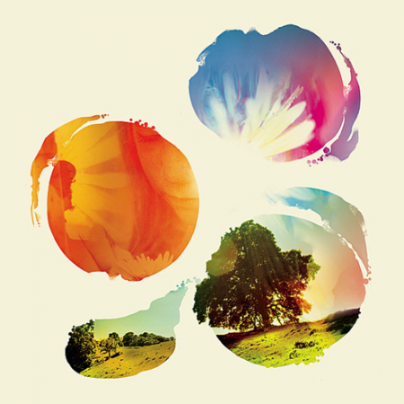 Album cover from Tycho music artist,  he's also a graphic designer. Love his work!