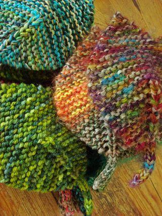 Modelli a maglia: le foglie