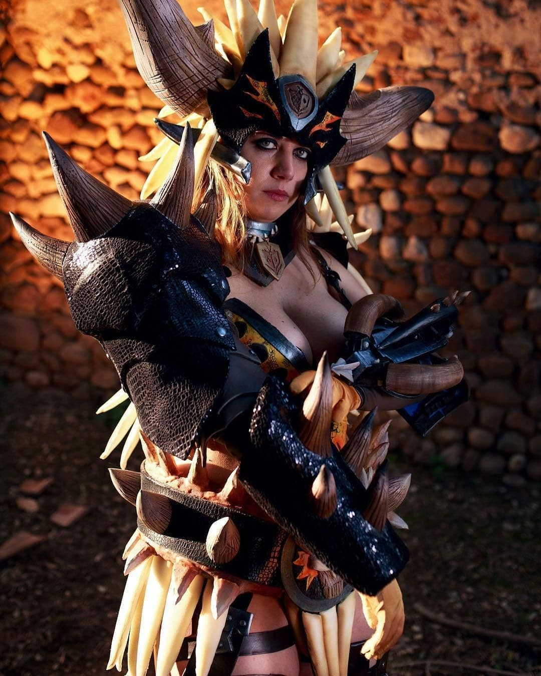 Monster Hunter World Armor By At Armorpennycosplay Photo At Scott