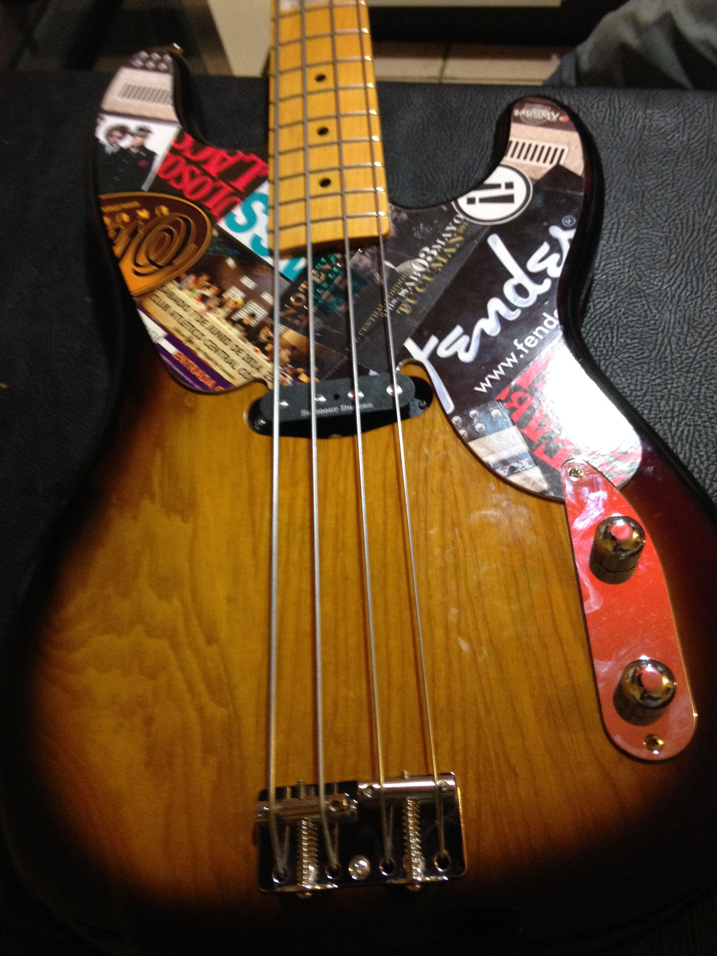 Pickguard Fender Precision Bass 51 Sticker Guitars
