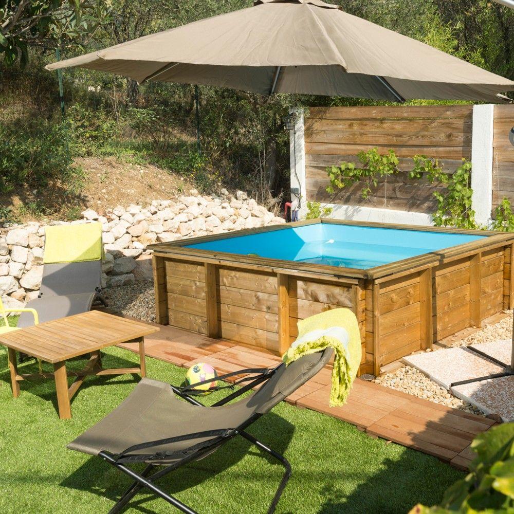 Piscine En Bois Petite Taille todo lujo en 2020 | piscine bois, amenagement piscine hors