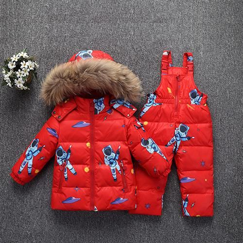 a0dcb0096 35 Degree Kids Winter Warm wn Jacket Childrens Toddler Clothing Sets ...