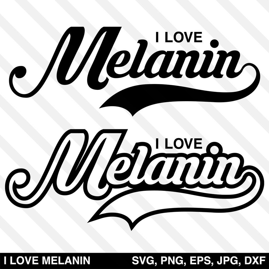 Download I Love Melanin SVG | My love, How to make tshirts, Melanin