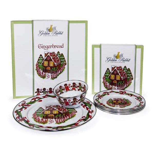 Enamelware Christmas Gingerbread Dip Set. Perfect hostess for a cookie exchange. This dishes are  sc 1 st  Pinterest & Enamelware Christmas Gingerbread Dip Set. Perfect hostess for a ...