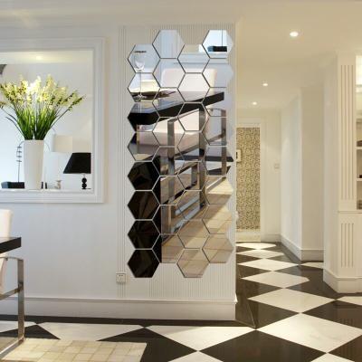 Beli Hiasan Dinding Cermin Hexagonal Impor Mirror Wall Stiker Wallstiker Dari Minami Lidya831 Bekasi Hanya