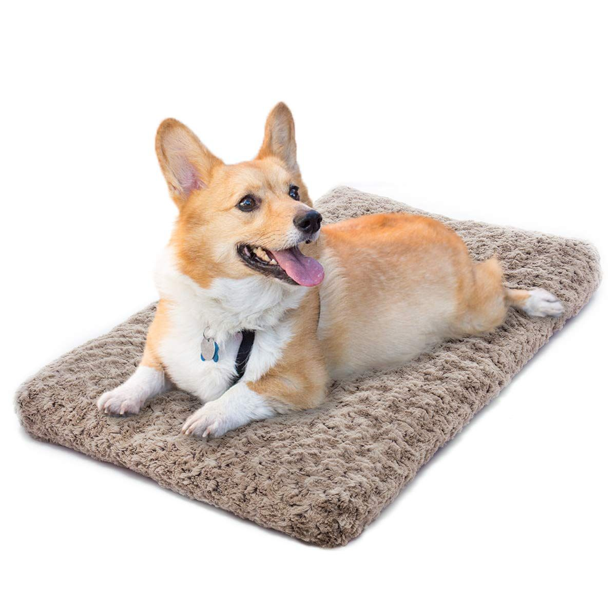 Joejoy Dog Bed Ultra Soft Crate Pad Home Washable Mat For Dogs And Cats Crate Be Sure To Check Out This Awesome Product Thi Cat Crate Dog Pet Beds Dog Cat