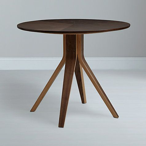 House By John Lewis Radar 4 Seater Round Dining Table Walnut