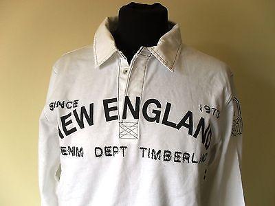 Polo Shirt by Timberland New England Trikot Maillot Jersey Tg. S-M (B33)