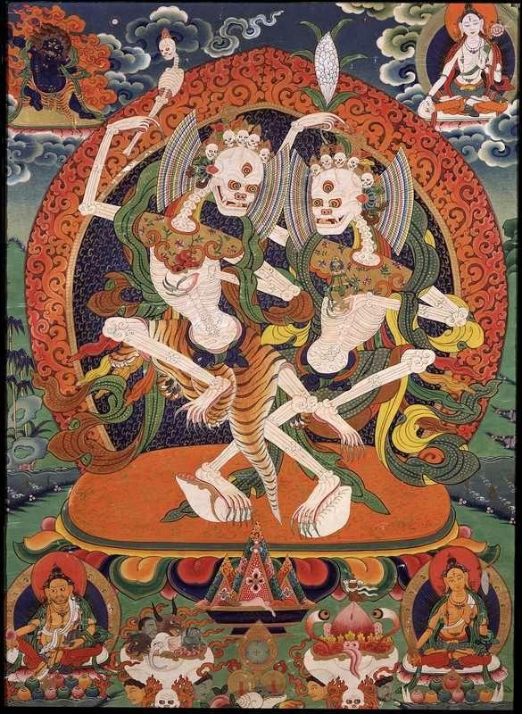 Citrapa Tibetan Buddhist Thanka | Research | Tibetan art