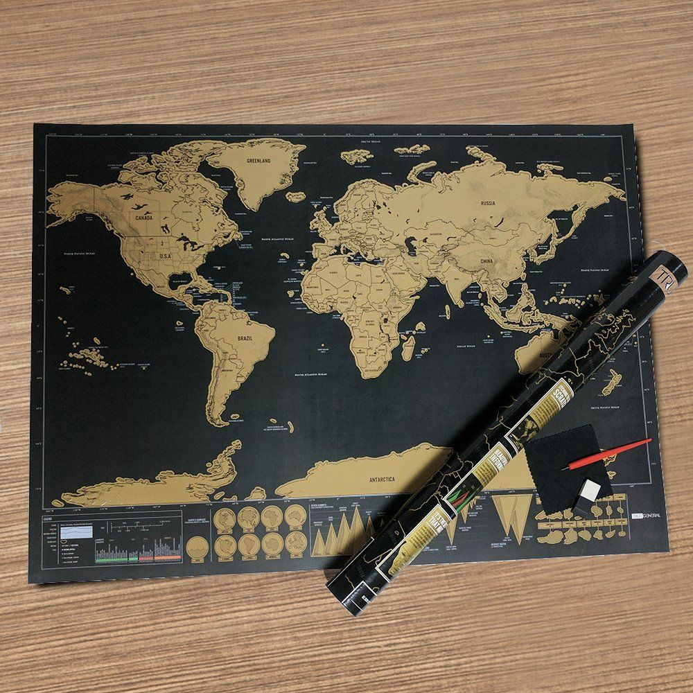 Pin On Deluxe Scratch Off Map