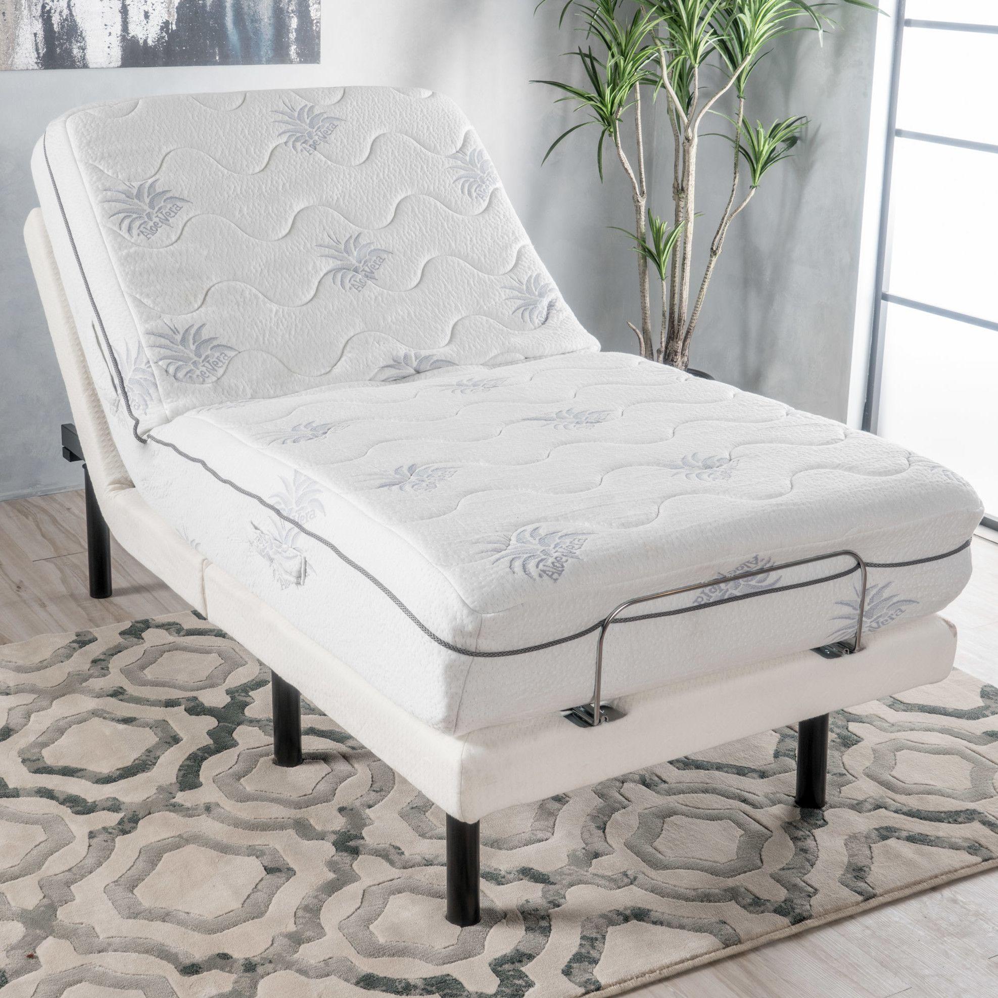 Blough Bed Frame Adjustable beds, Home decor furniture