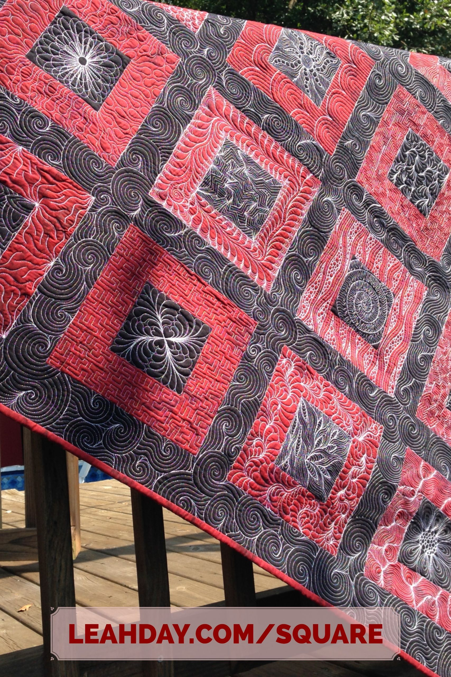 Super Squares And Sashing Workshop Free Motion Quilt Designs