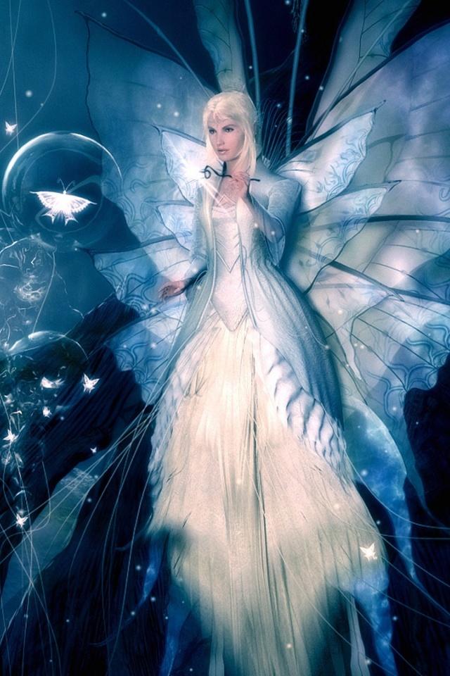 3d fairy 3d Fairy iPhone 4 Wallpaper Free İphone 4
