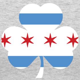 Chicago Flag Shamrock Irish Shamrock Tattoo Shamrock Tattoos Chicago Flag