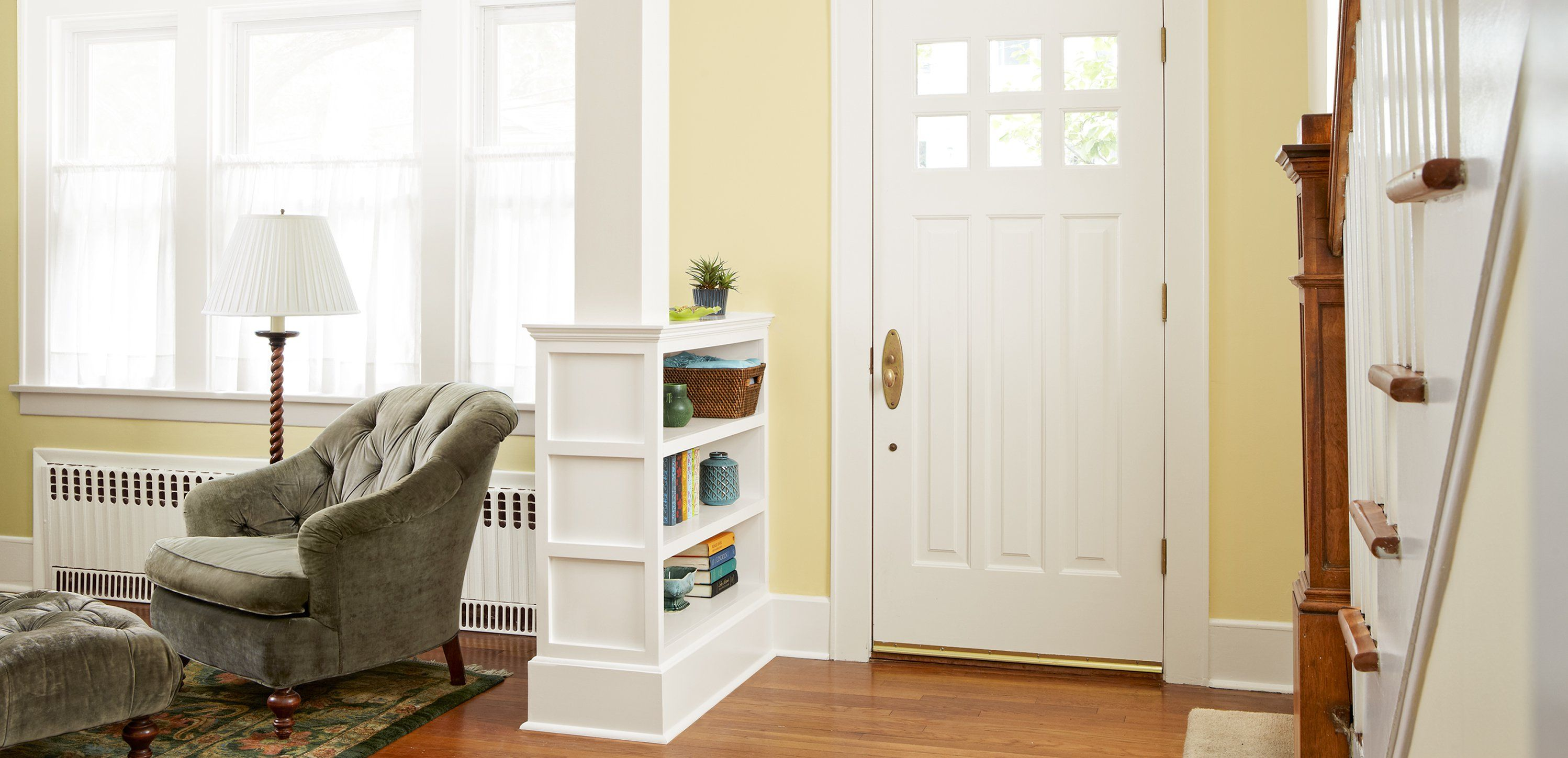 How to build a columned room divider woods craftsman and room