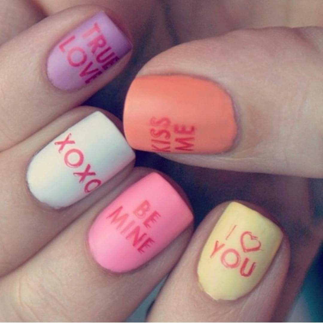 45 Brilliant Valentines Day Nail Art Ideas For The Artistic Women