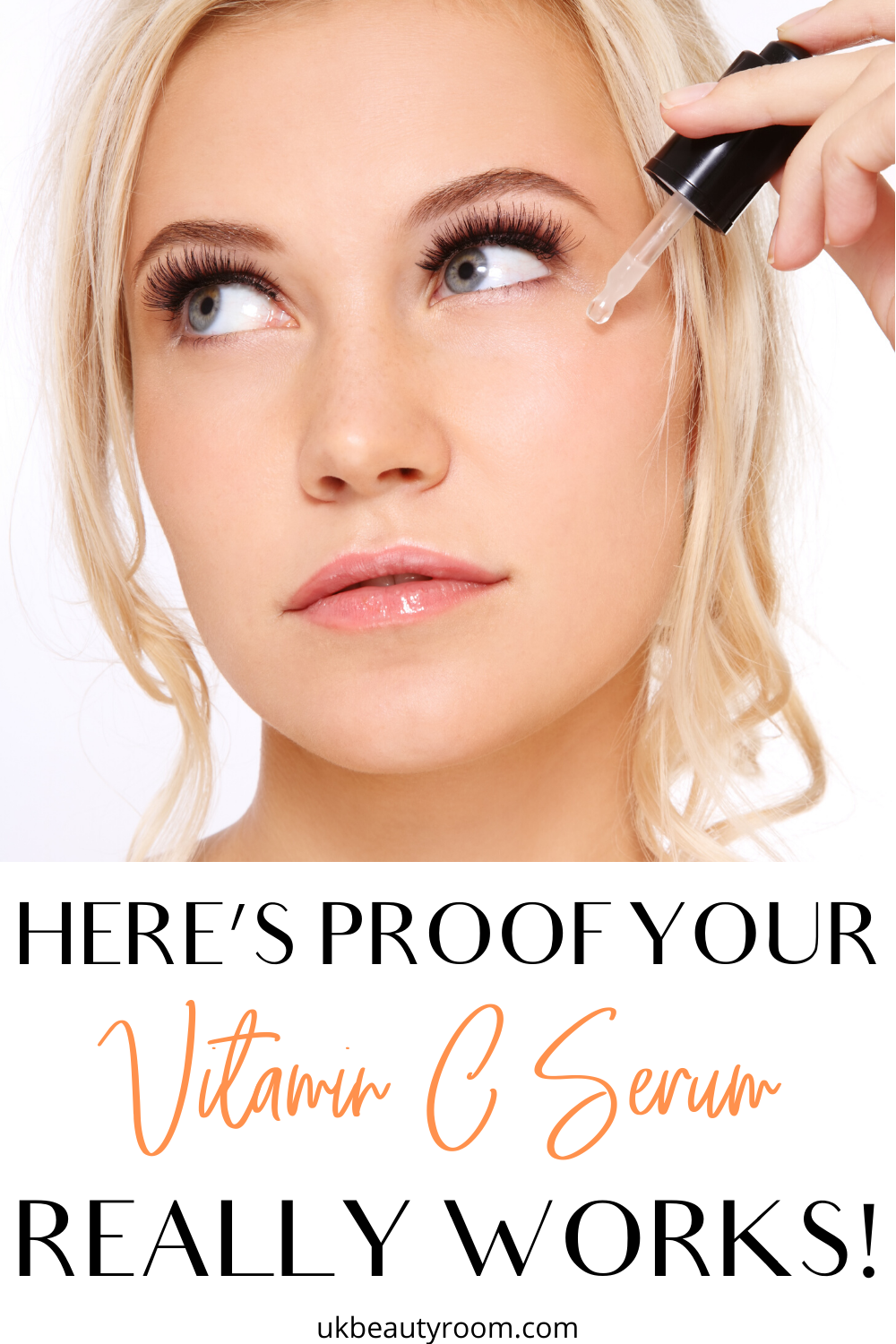 Vitamin C Serum Proof That It Works Skin Care Solutions Vitamins For Skin Skin Care