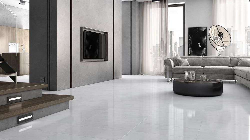 Thassos Select Polished Marble Tile Floor Decor Living Room Tiles Flooring
